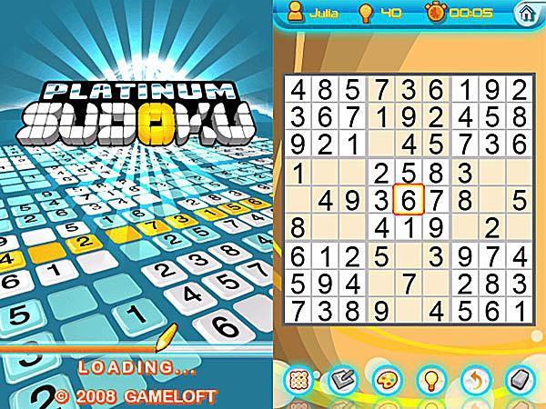 Gameloft Platinum Sudoku