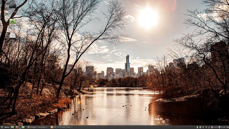 Alternative Linux Mint Desktop