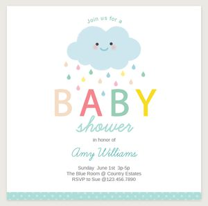 19 Sets of Free Baby Shower Invitations You Can Print