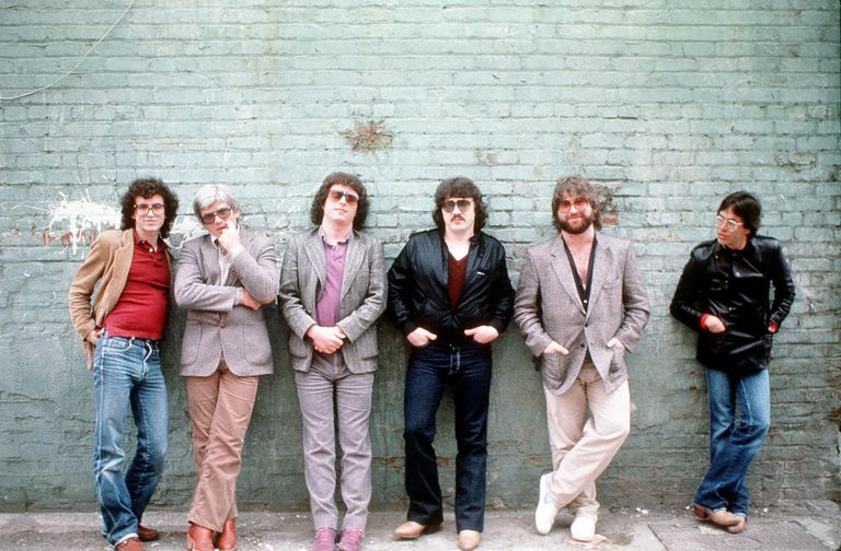 Los Angeles soft rock band Toto, photographed in 1982.