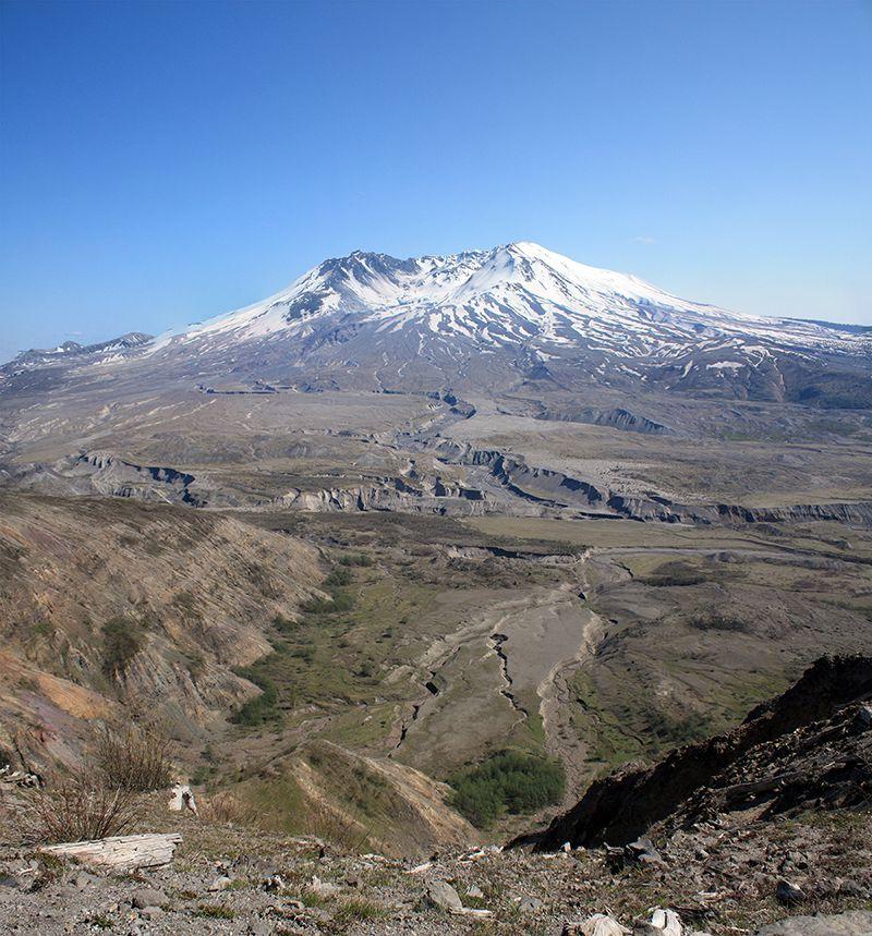 Mount St Helens Blast Zone as of 2009