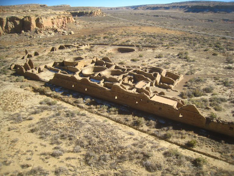 Chetro Ketl, Great House Site in Chaco Canyon