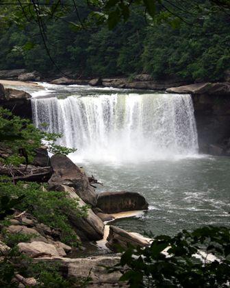 Cumberland Falls State Resort Park.