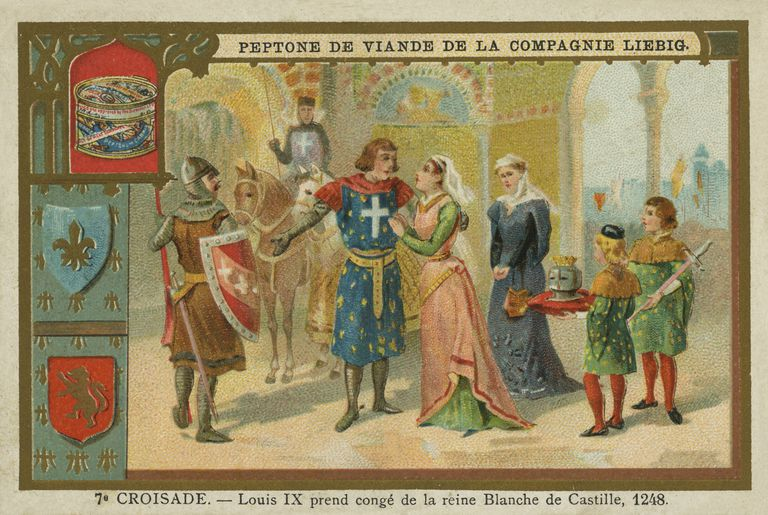 Louis IX and Blanche of Castile