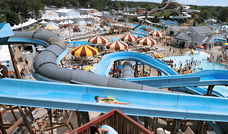 "The Water Park in ""The Way, Way Back"" and ""Grown Ups"""