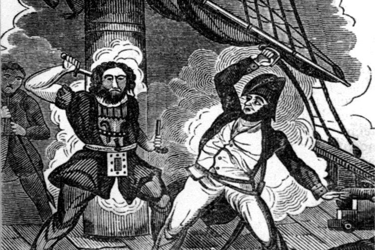 Blackbeard's Final Fight