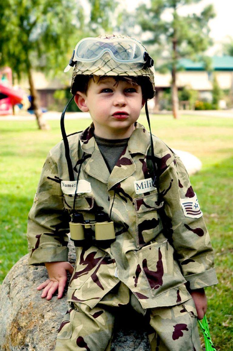 little soldier Halloween