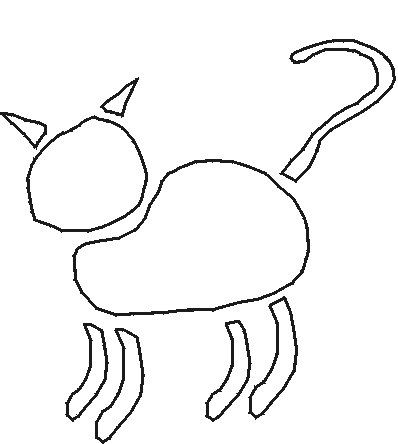 Free Cat Stencils to Print and Cut Out