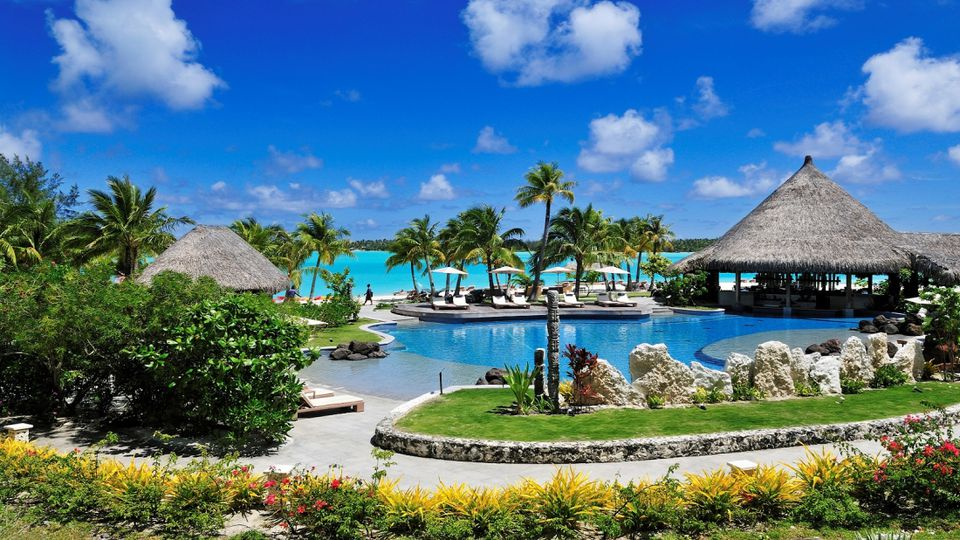 The St. Regis Bora Bora Pool