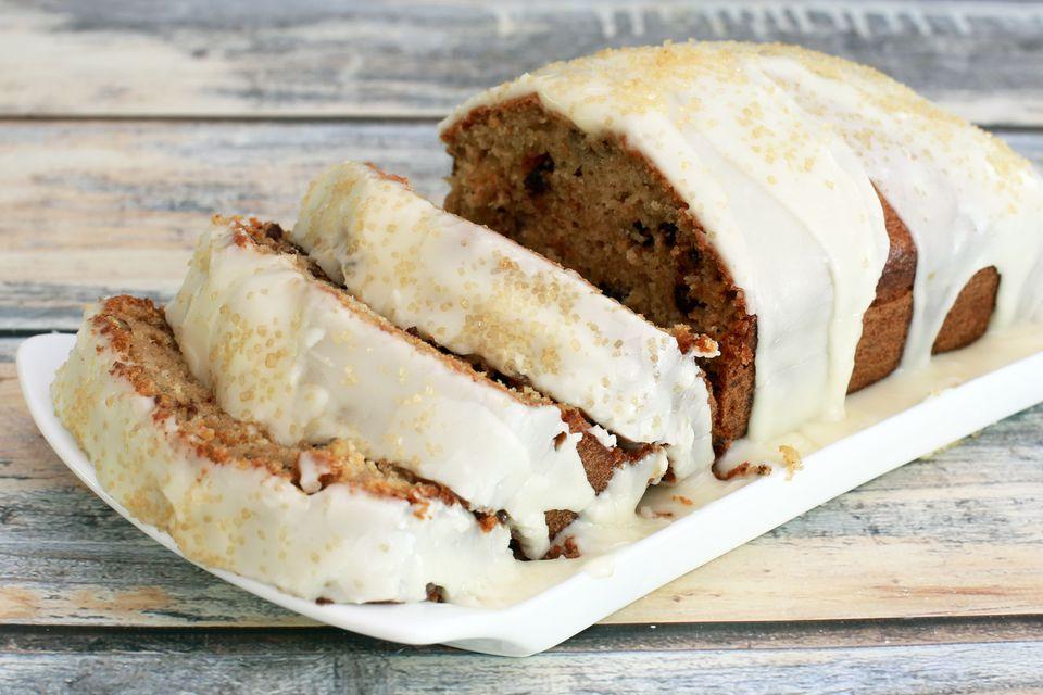 Applesauce Cake Iced