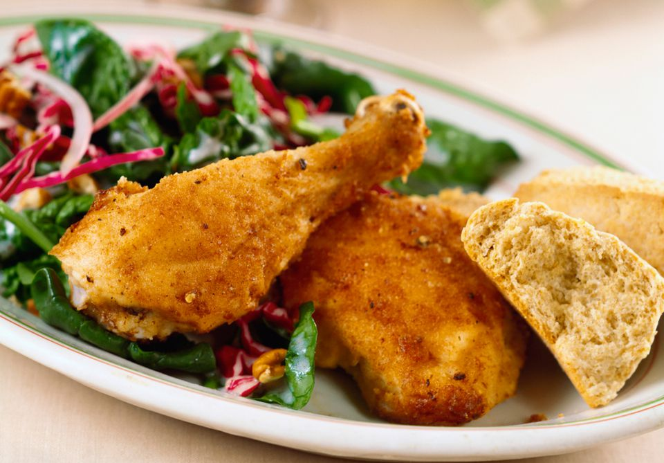 Southern Baked Fried Chicken