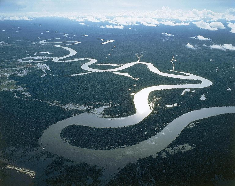 Stream Order The Classification Of Streams And Rivers - Examples of rivers in the world