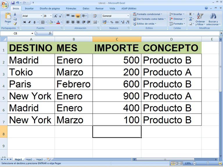 Buscar y reemplazar datos en tu hoja de calculo Excel