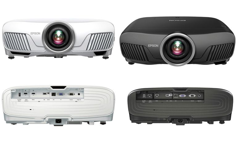 Epson Powerlite Home Cinema 5040 (left) and Pro Cinema 6040 (right) Projectors