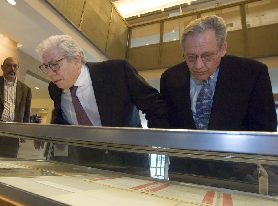 USA - Watergate Scandal - Mark Felt Papers on Display