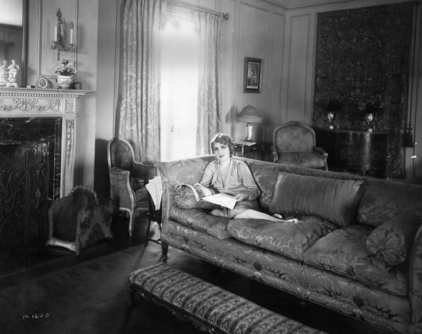 Hollywood Actress Mary Pickford at Her Mansion Pickfair in Beverly Hills LA