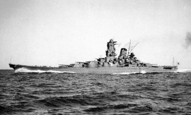 Yamato underway