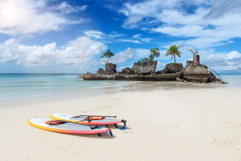 The beautiful islands of Boracay