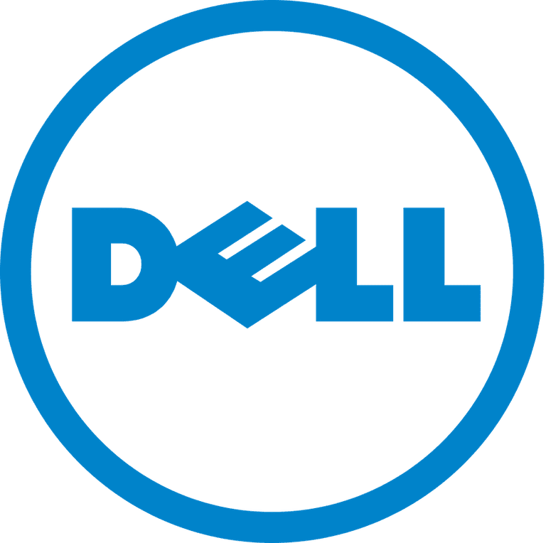 Screenshot of the Dell logo