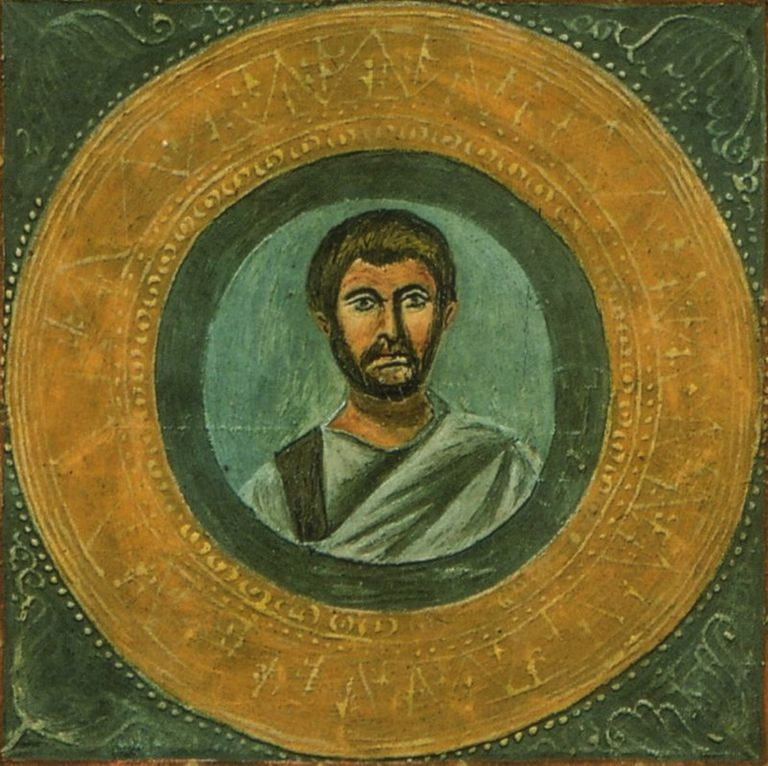 Portrait of Terence from Vaticana