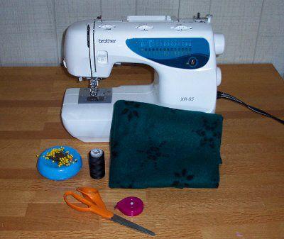 How to Make a Fleece Snuggle Bag