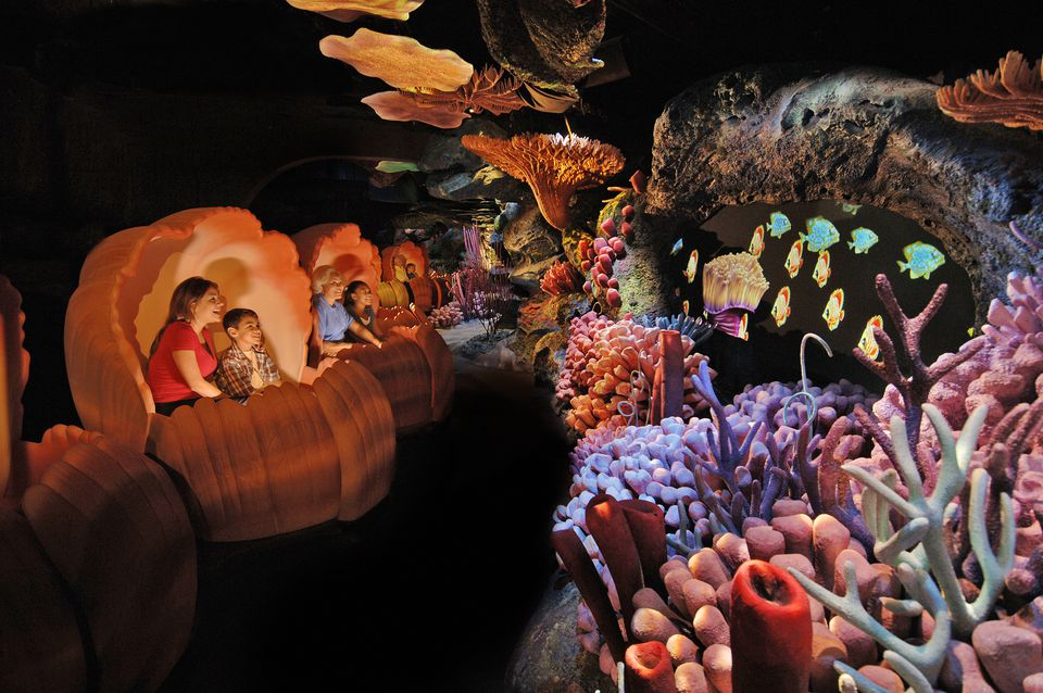 The Seas with Nemo and Friends ride at Disney World