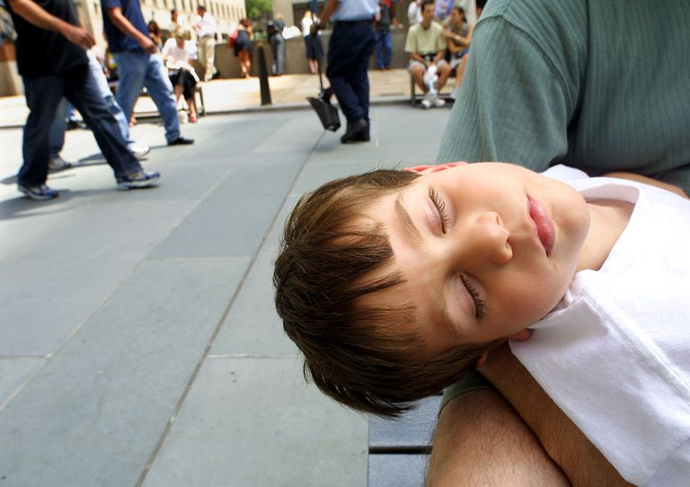 Large tonsils in children may contribute to snoring and sleep apnea and affect growth