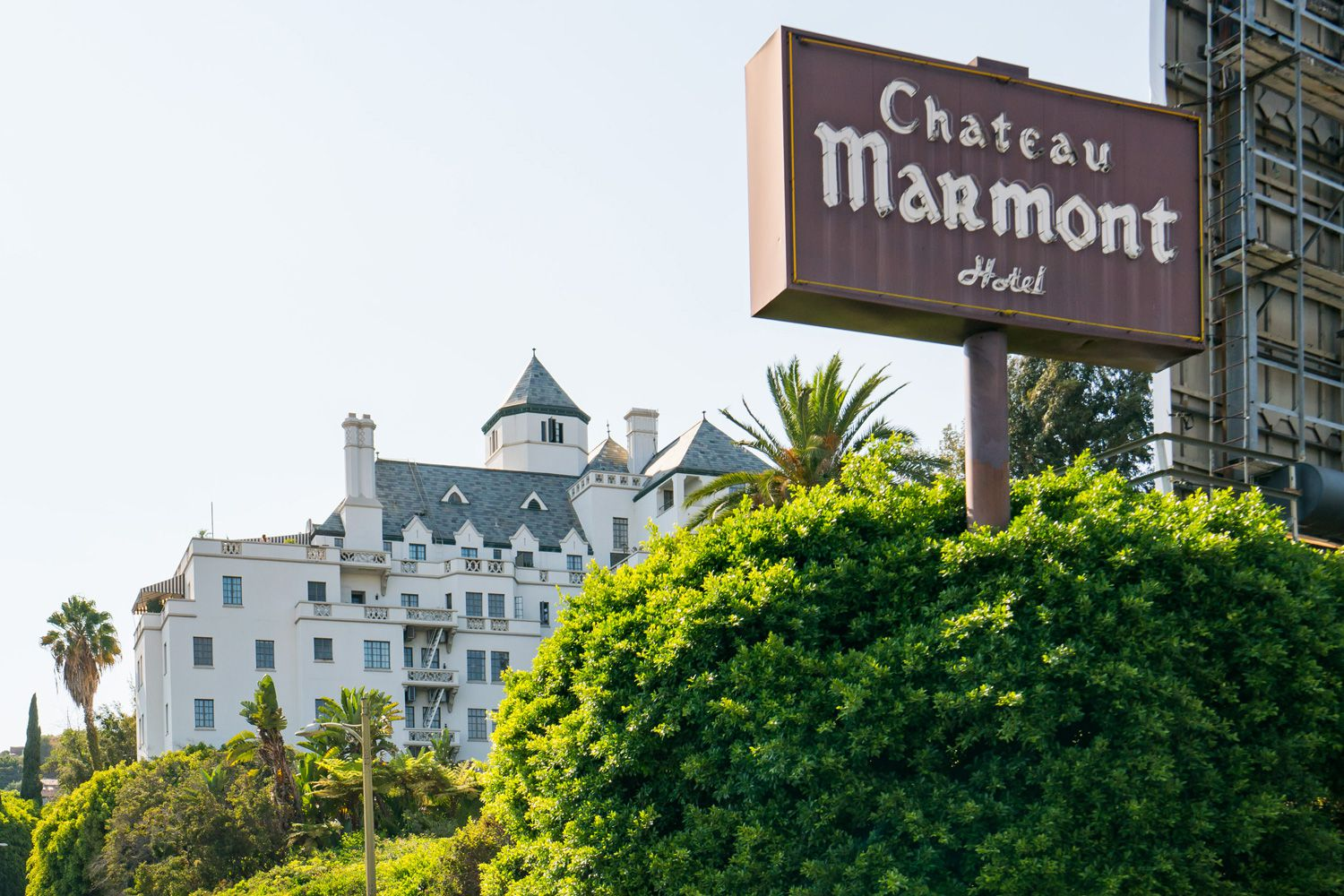 Car Rentals Los Angeles >> History of the Chateau Marmont in Los Angeles