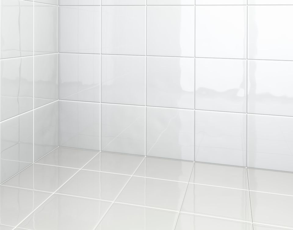 White Tiles in bathroom