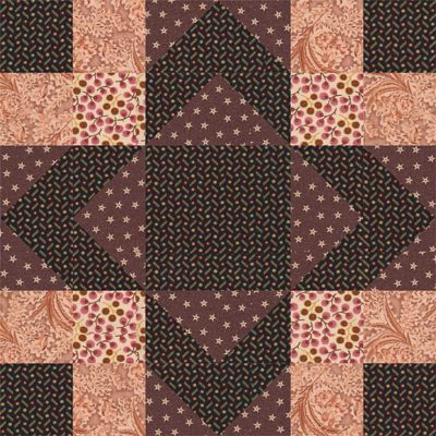 Aunt Sukey's Choice Quilt Block Pattern
