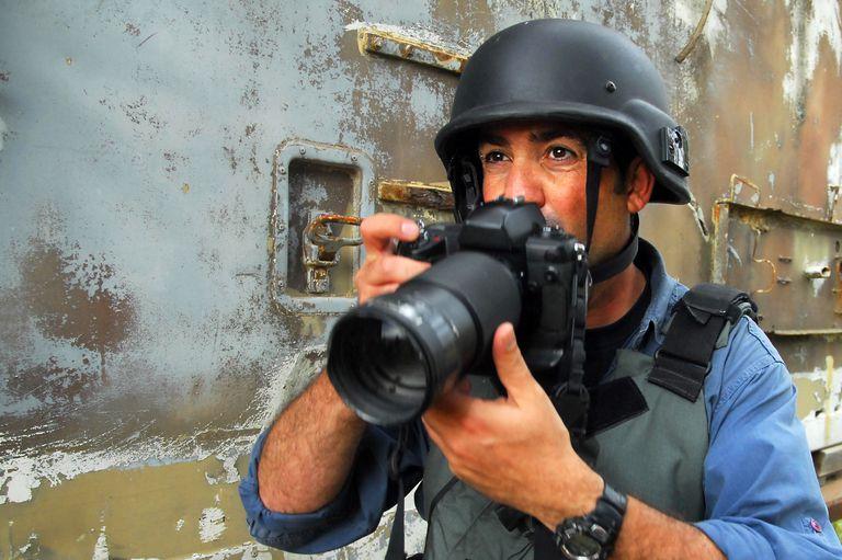Combat photographer