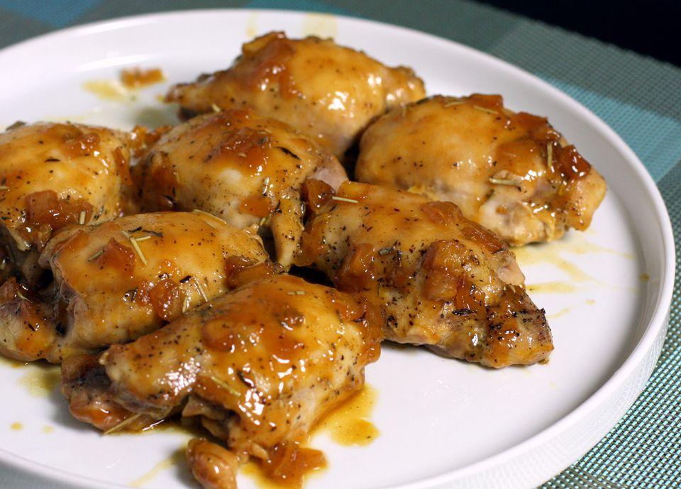 Chicken Thighs With Orange Sauce