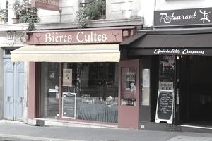 A pair of restaurants in Paris.