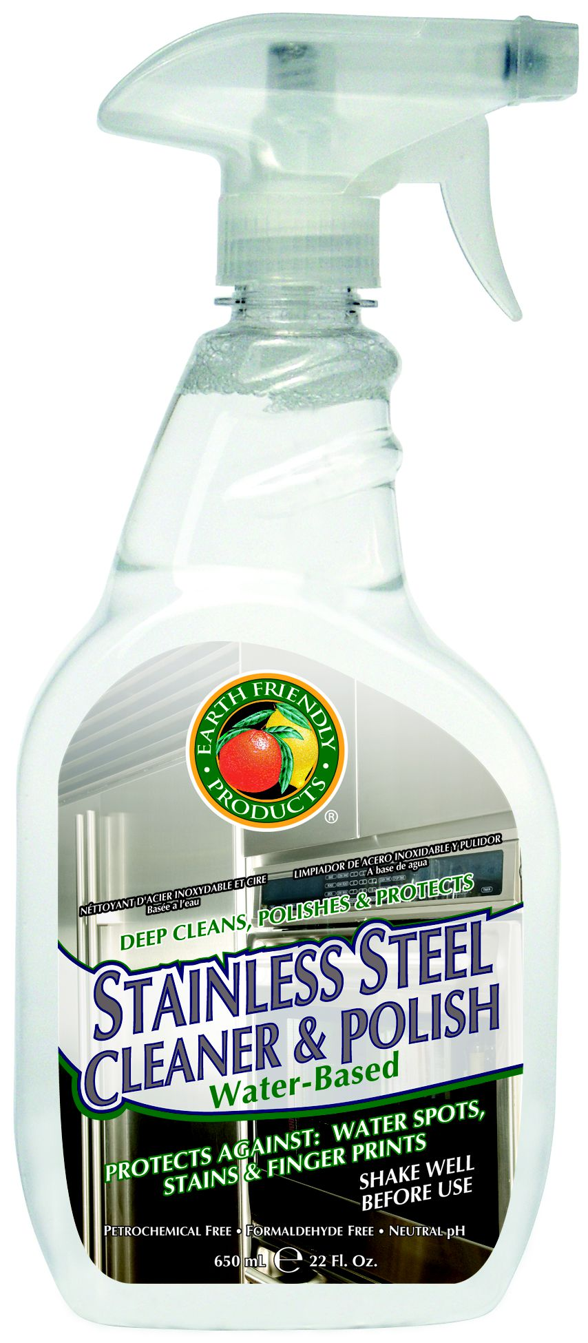 Earth Friendly Products Stainless Steel Cleaner and Polish