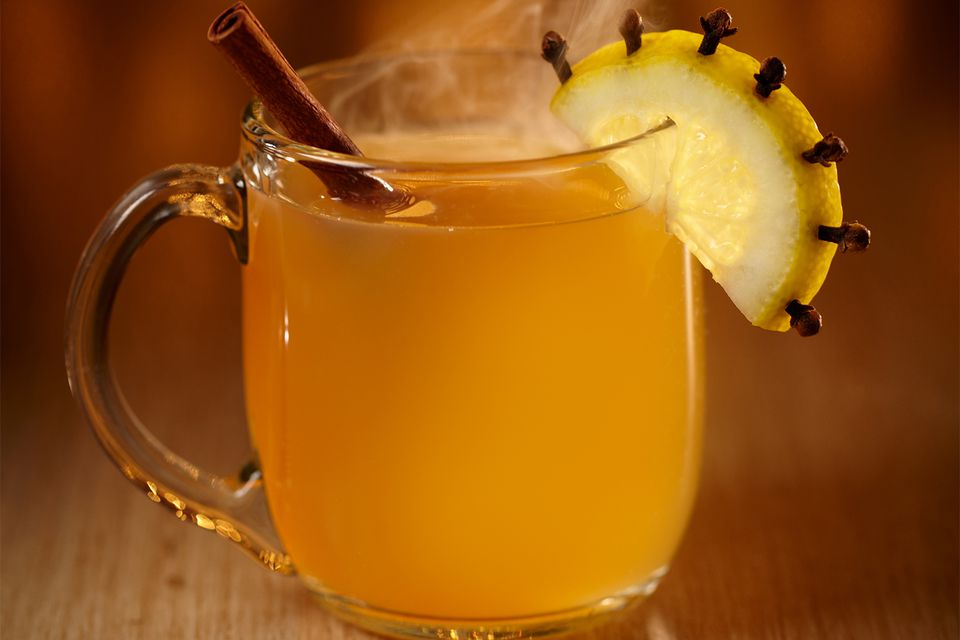 James Pierce's Winter Hill Cocktail - Warm Whiskey Drinks