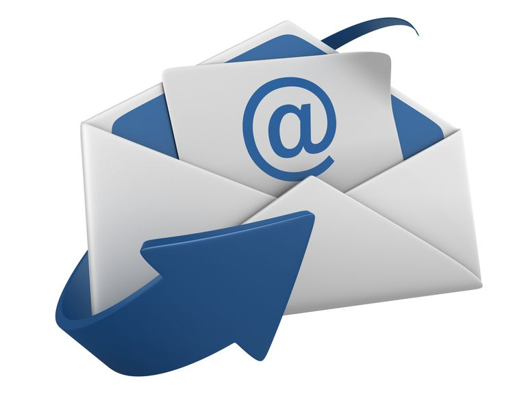 isolated envelope with arroba and arrow - Email Cover Letter Example