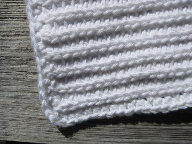 Single Crochet Block