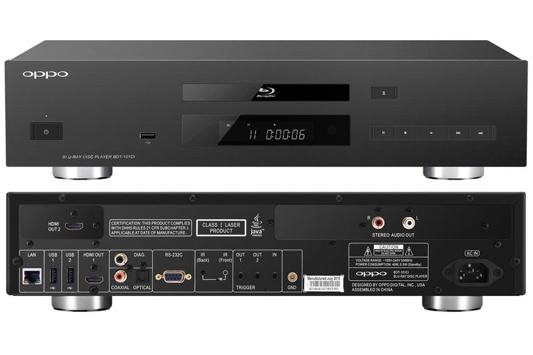 OPPO BDT-101ci Blu-ray Disc Player Transport