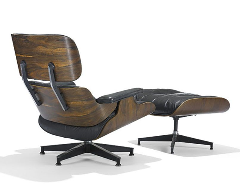 Eames Lounge Chair and Ottomon, 1956. - Photo Courtesy of Wright