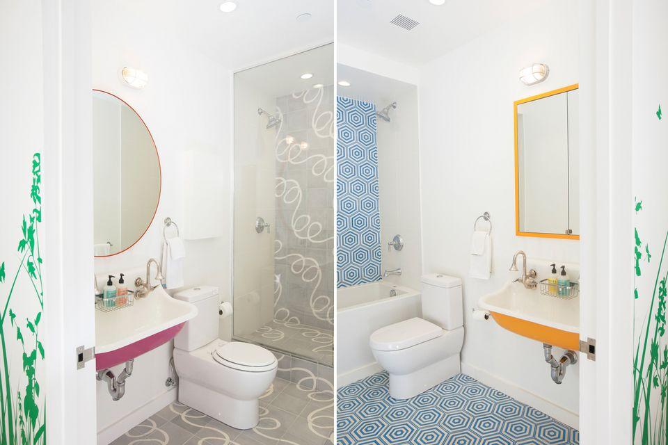colorful interior design ideas. Bright Bathroom Color Schemes 35 Colorful Interior Design Ideas