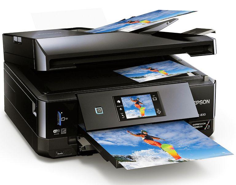 Epson Expression XP-830 Wireless Color Photo Printer