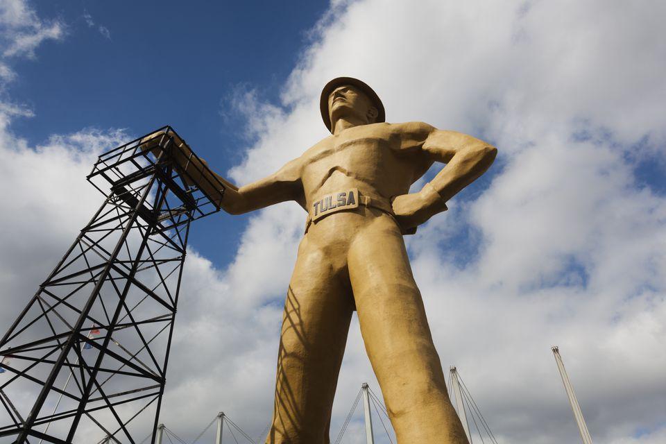 Golden Driller in Tulsa