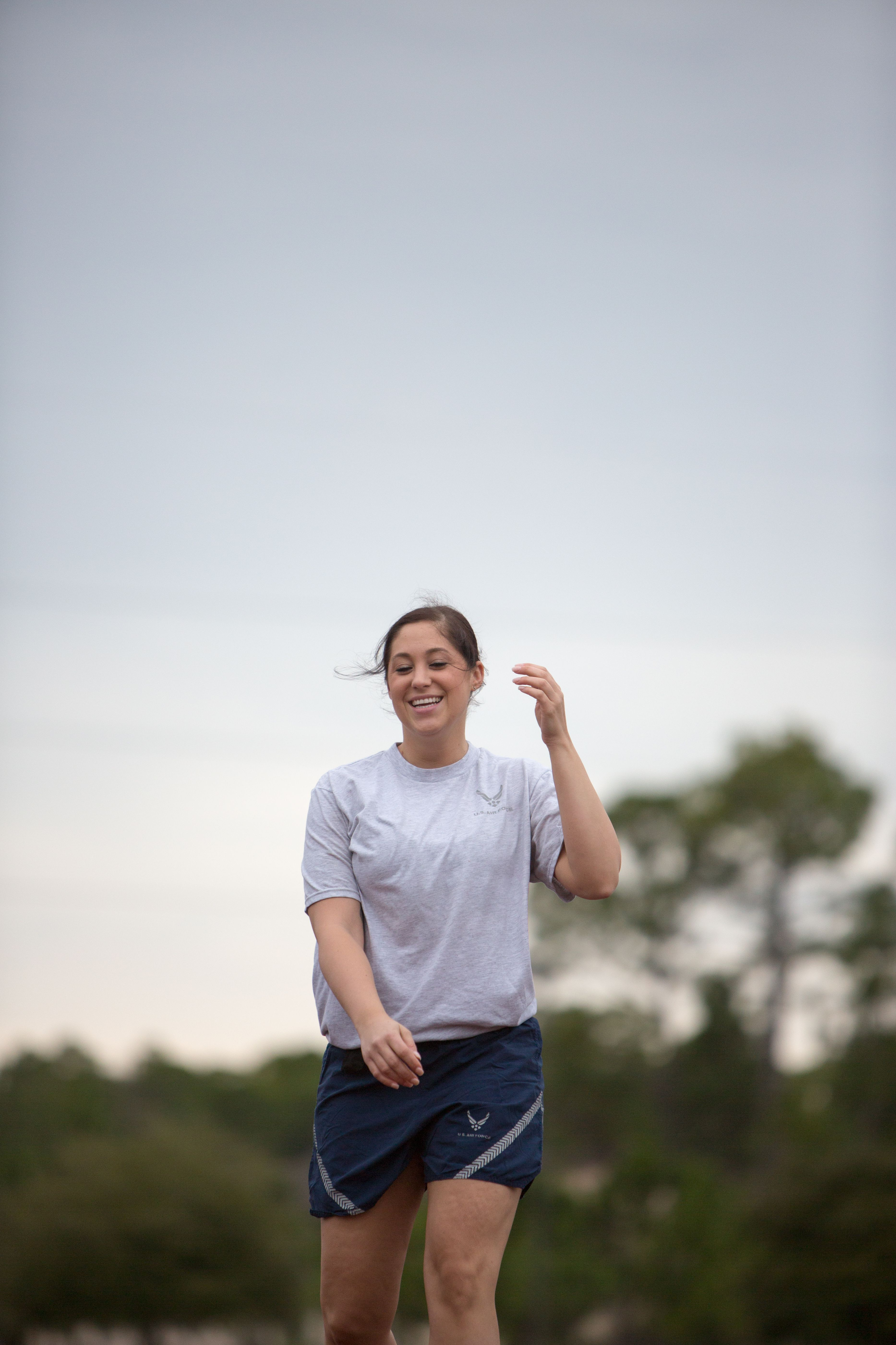 Air Force Basic Training Fitness Standards