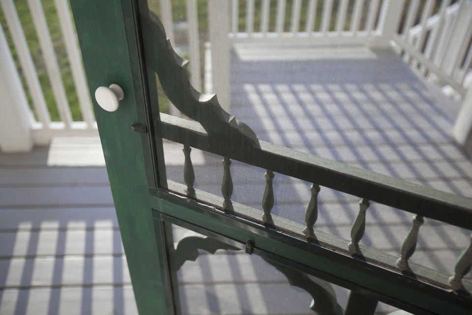House screen door