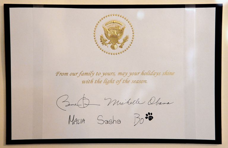 How to order greeting cards from the white house m4hsunfo Choice Image