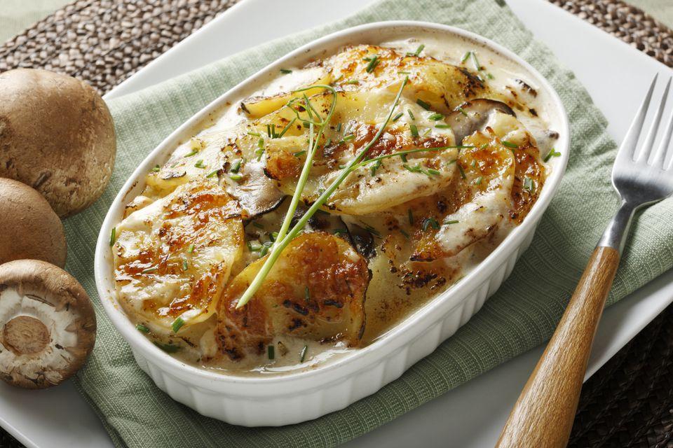 Potatoes Au Gratin