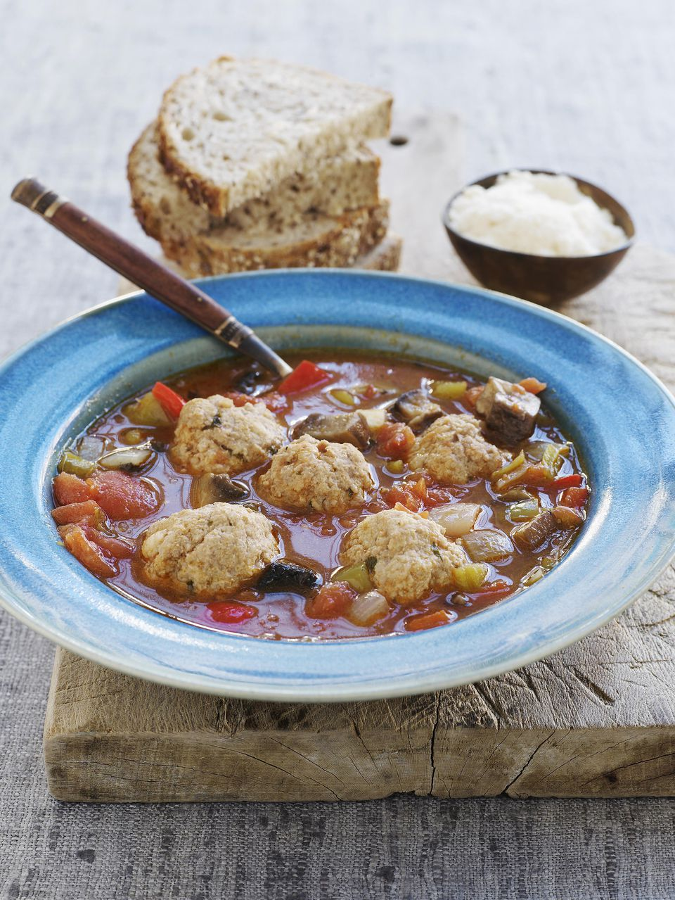 Crockpot Meatball Taco Soup