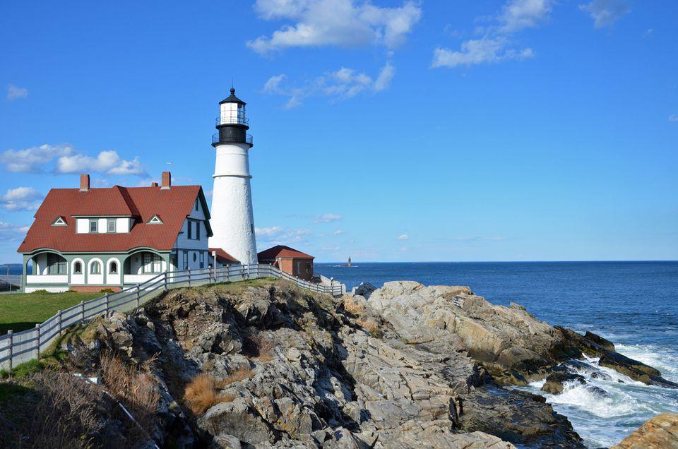 Portland Head Light - Maine Lighthouse Tour