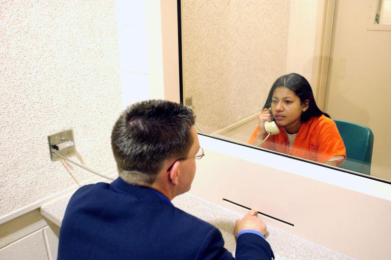 prisoner with lawyer visitation