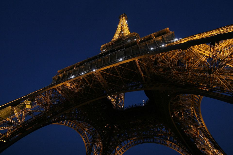 The Eiffel Tower: simply iconic.
